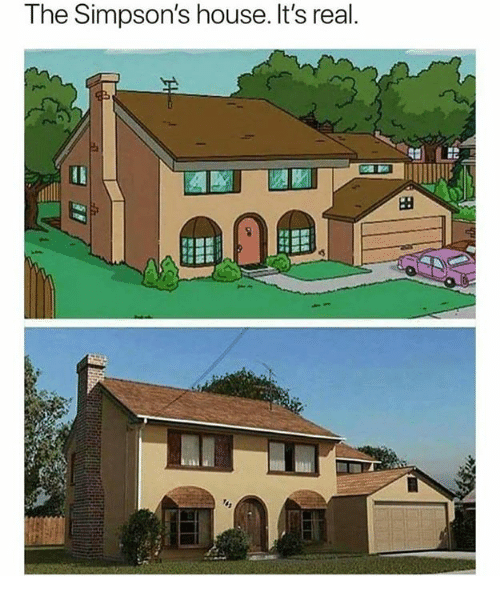 The Simpson's House It's Real