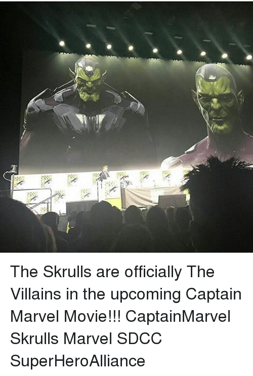 The Skrulls Are Officially The Villains In The Upcoming Captain