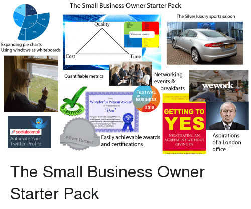 The Small Business Owner Starter Pack 23 01010101100 The Silver
