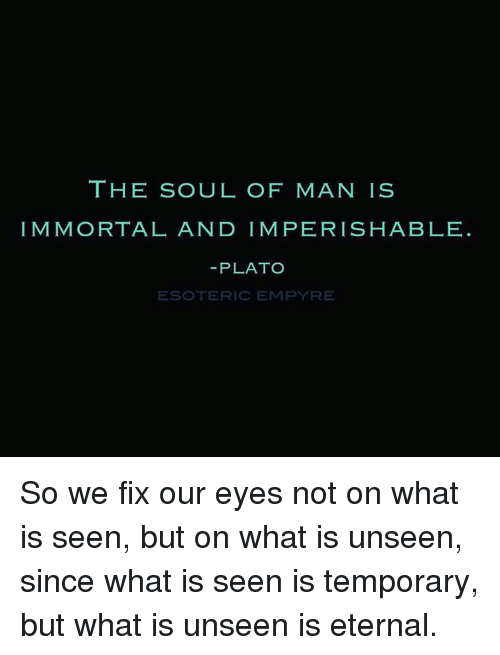 What is the soul of man