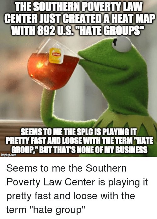 Reddit Business And Southern Poverty Law Center The Southern Povert Law Centerjustcreatedaheatmap With
