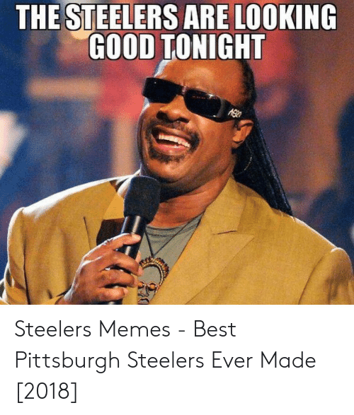 The Steelers Are Looking Good Tonight Steelers Memes Best