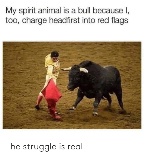 Struggle, The Struggle Is Real, and Real: The struggle is real