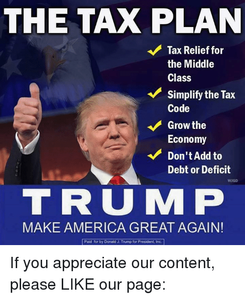 The TAX PLAN V Tax Relief For The Middle Class Simplify