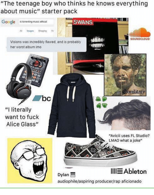 the teenage boy who thinks he knows everything about music 14162875 25 best audiophile memes activism memes, a slut memes, male to