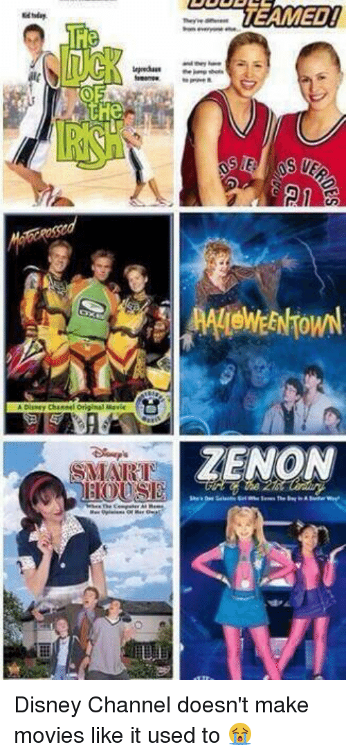 The The Teamed Zenon Disney Channel Doesnt Make Movies Like It