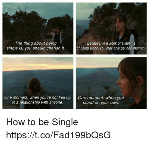 why you should be single