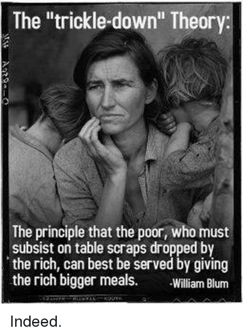 the trickle down theory the principle that the poor who must 20458754 ✅ 25 best memes about trickle down trickle down memes,Down Down Meme
