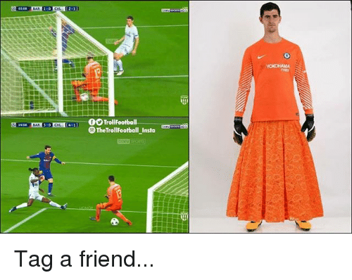 Memes, 🤖, and Friend: The TrollFootball Insta Tag a friend...