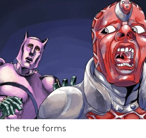 True, The, and Forms: the true forms