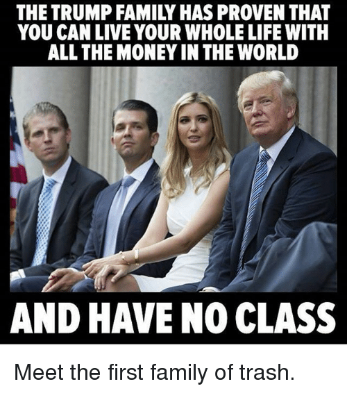 the trump family has proven that you canlive your whole 17872285 the trump family has proven that you canlive your whole life with,Trump Family Meme