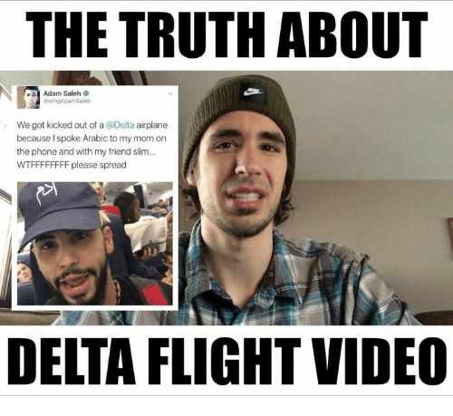 the truth about adam saleh we got kicked out of 9768265 ✅ 25 best memes about about adam about adam memes,Funny Arab Meme Airplane