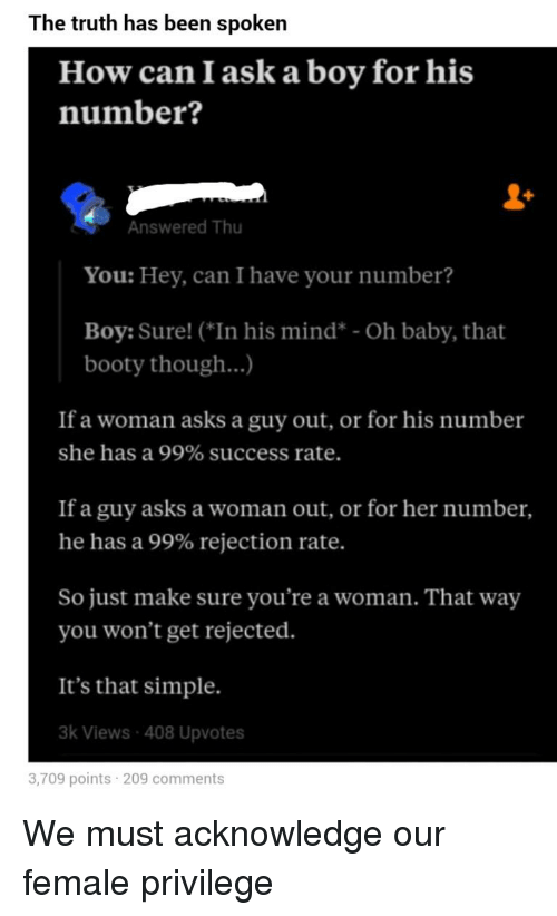 how to get a boy to ask for your number