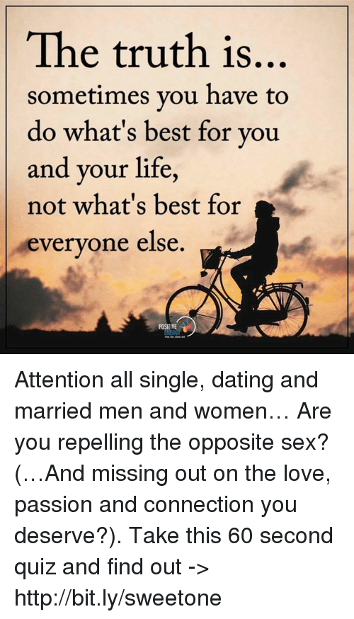 best is dating a married man a single girl