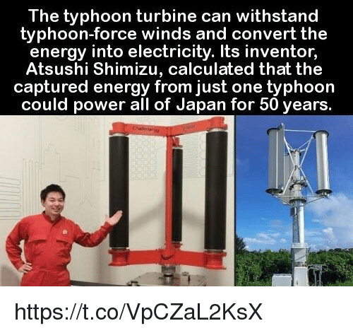 Memes Calculator And An The Typhoon Turbine Can Withstand Force Winds