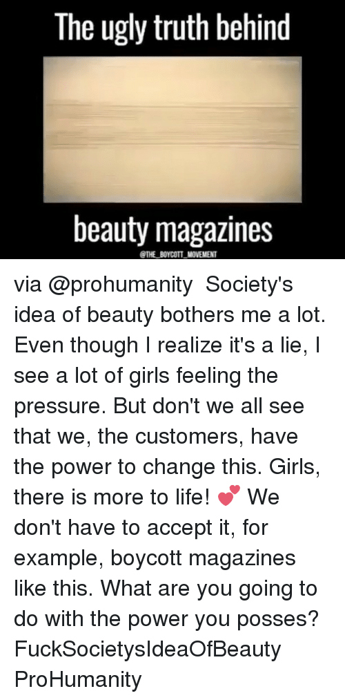 ugly truth about beauty