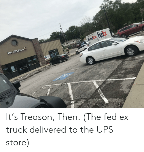 The UPS Store Ups FedEx Fedax Ground Notary Fax Intog We