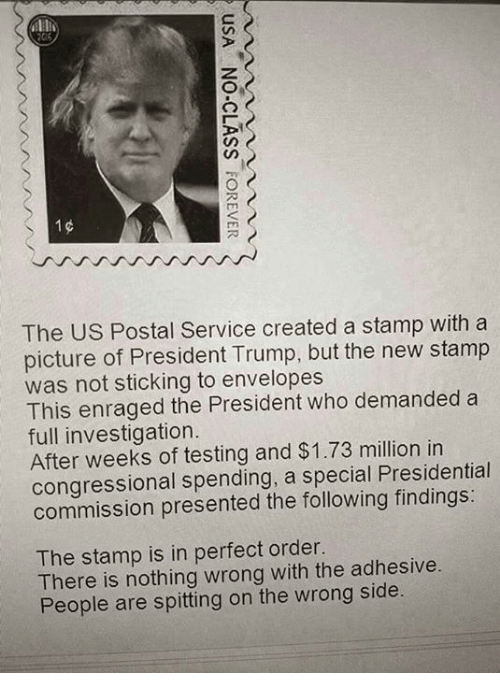 Image result for trump & Postal Service