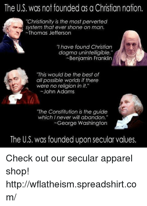 was america founded as a christian nation essay Entries for the decade prior to 1975, three of these appearing in christian century ,i a weekly  an interpretation of american history wherein civil religion plays a  significant-and by  why would this nation or any nation develop a civil religion.