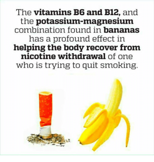 The Vitamins B6 and B12 and the Potassium-Magnesium Combination