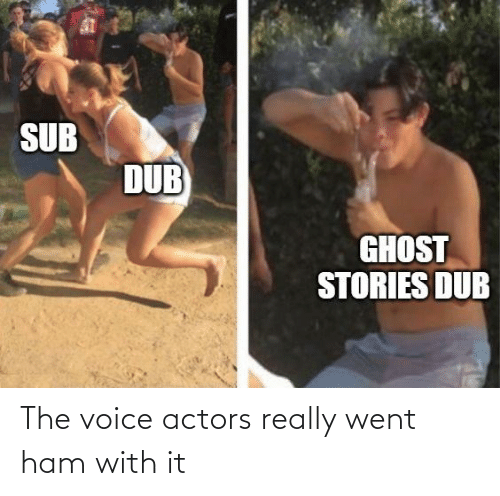 Anime, The Voice, and Voice: The voice actors really went ham with it