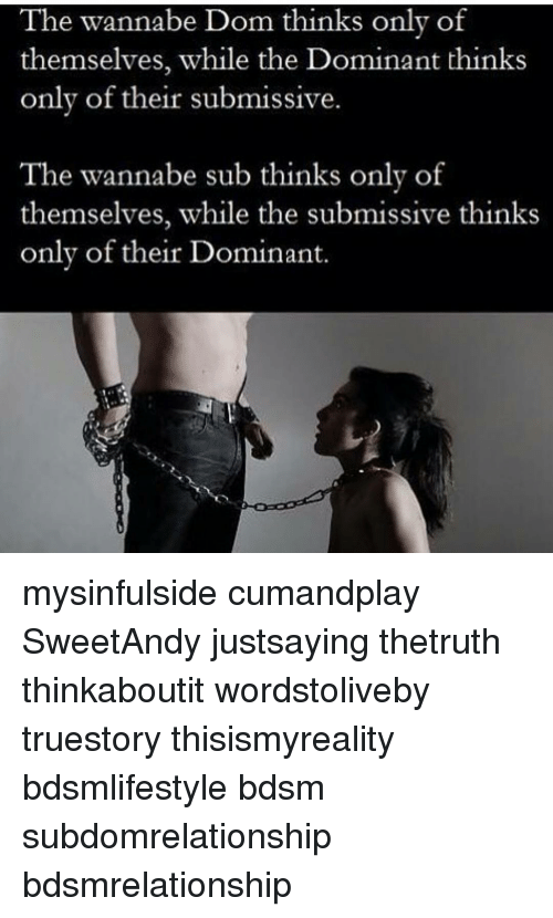 Dominant submissive
