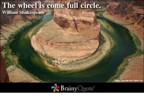 Come Full Circle Quotes: 25+ Best Memes About Come-Full-Circle