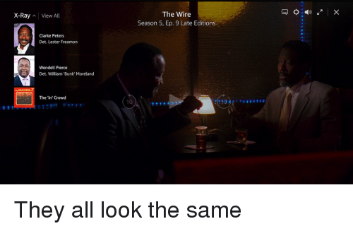 Season 5 Of The Wire | The Wire Season 5 Ep 9 Late Editions X Ray View All Clarke Peters