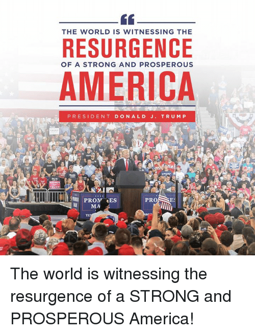 The resurgence of America