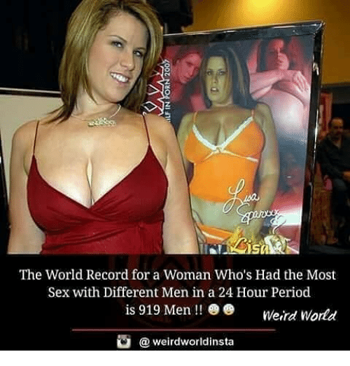 Record sex with most woman