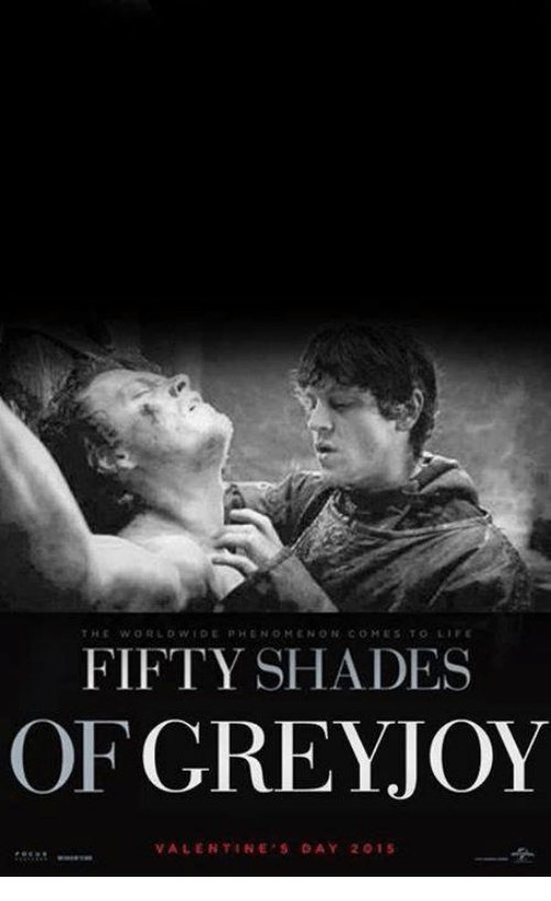 Fifty Shades of Grey, Memes, and Shade: THE WORLD WIDE PHEN  OMENO IN COM ES TO LIFE  FIFTY SHADES  OF  GREY JOY  VALENTINE'S DAY 2015