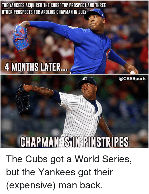 the yankees acquired the cubs top prospect and three other 8536205 ✅ 25 best memes about kfkdkf kfkdkf memes