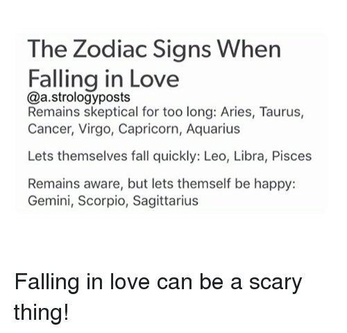 Signs of falling for someone