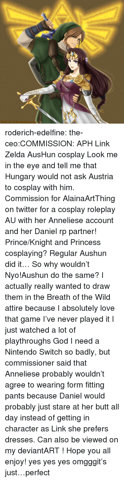 Ask zelda for anal sex found