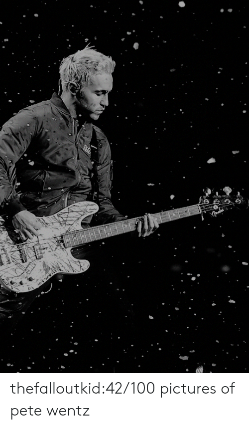 Anaconda, Tumblr, and Blog: thefalloutkid:42/100 pictures of pete wentz