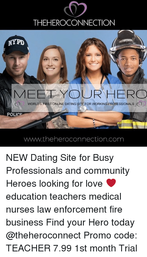 Online dating for professionals