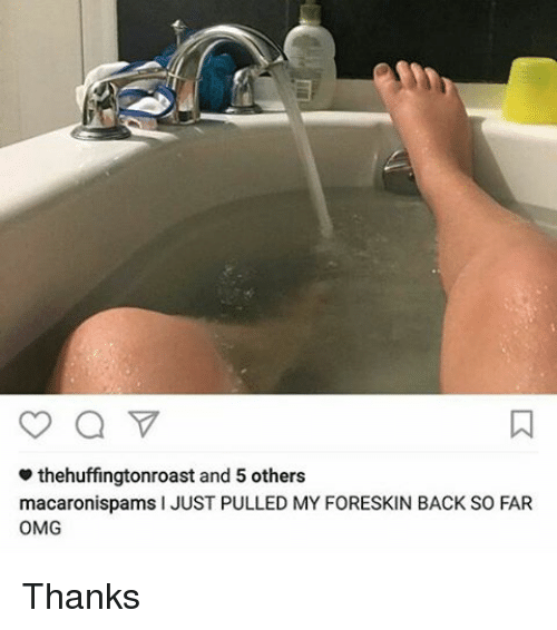 My Foreskin Wont Go All The Way Back