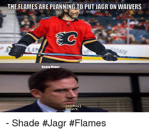 theiflames are planning to putjagr on waivers s2 hockey memes 30601761 attention parents on thursday november 24 are having eer day