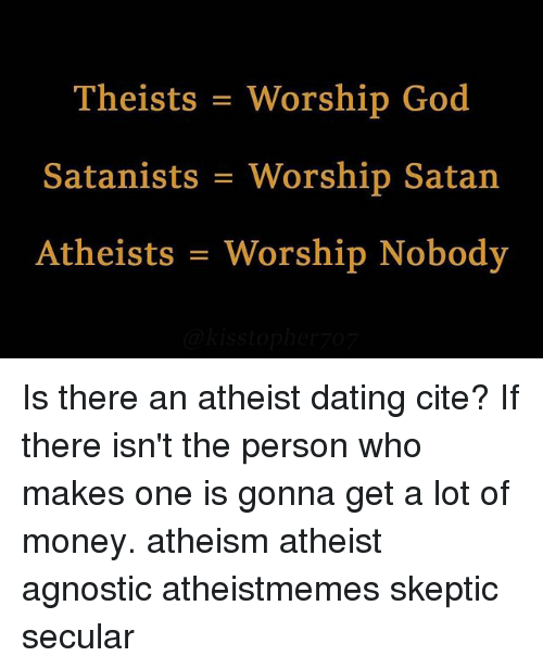 atheist dating gon dating