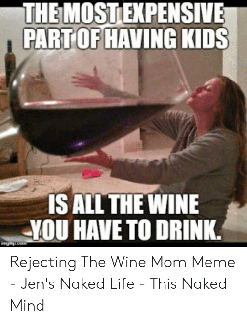 9e88a7ddc2d THEMOSTEXPENSIVE PARTOF HAVING KIDS S ALL THE WINE YOU HAVE TO DRINK ...