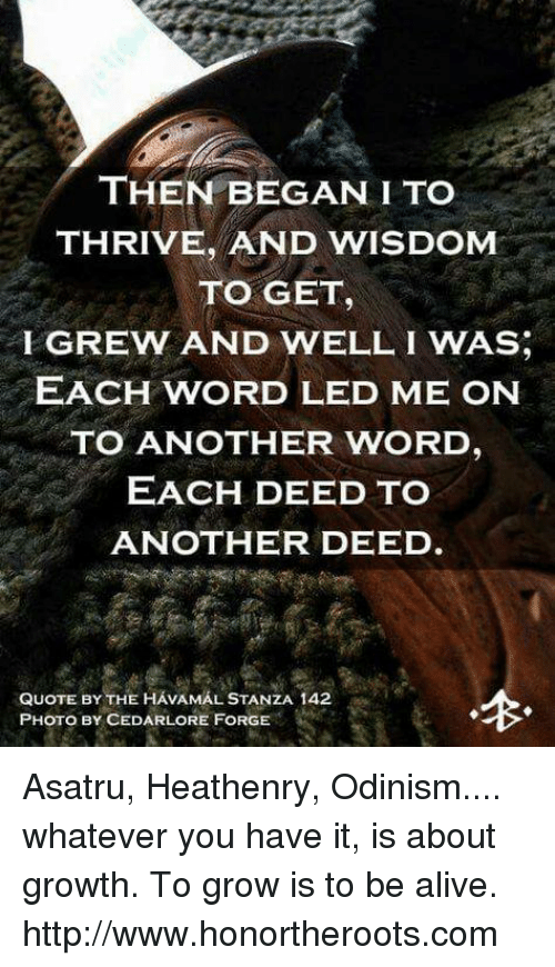 Then Began Ito Thrive And Wisdom To Get Fgrew And Well I Was Each