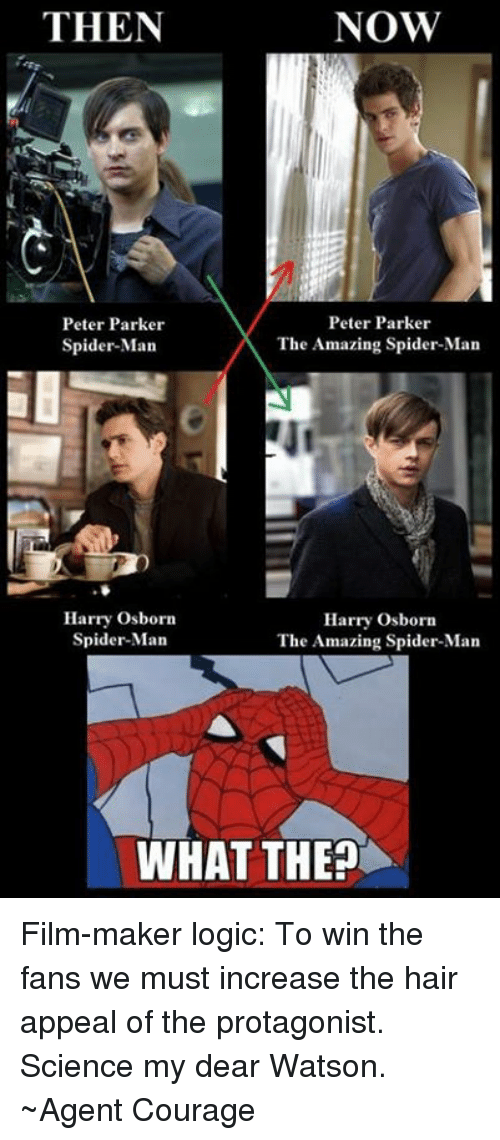 Then Now Peter Parker Peter Parker The Amazing Spider Man