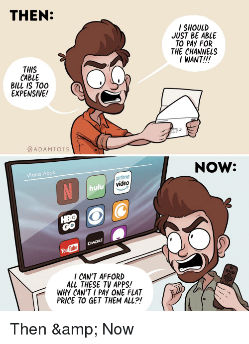 i want tv apps