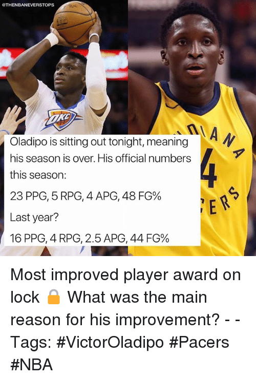 most improved award meaning