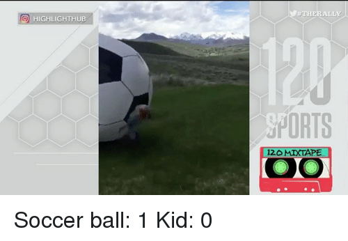 THER ALLY O HIGHLIGHTHUB SPORTS 12O MIXTAPE Soccer Ball 1