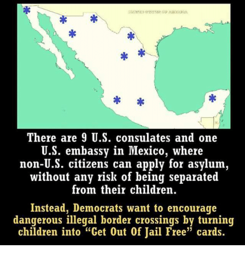 There Are 9 Us Consulates And One Us Embassy In Mexico Where Non Us - Us-consulates-in-mexico-map