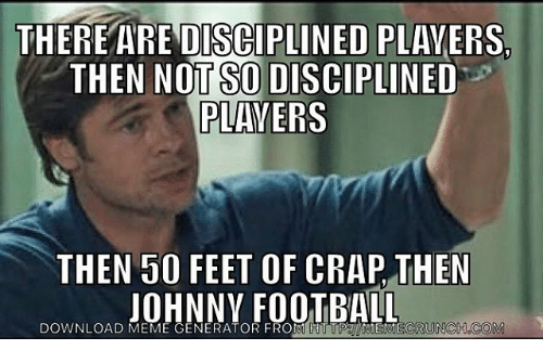 there are disciplined players then not so disciplined players then 12933937 ✅ 25 best memes about sports meme generator sports meme