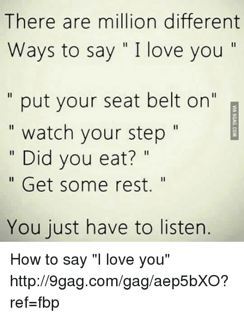 how to say i love you in a funny way