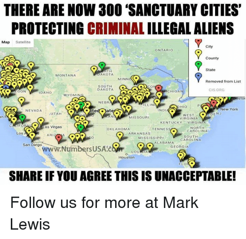 Best Memes About Illegal Aliens Illegal Aliens Memes - Map of us sanctuary cities