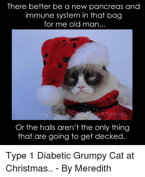 there better be a new pancreas and immune system in 363539 ✅ 25 best memes about type 1 diabetes and grumpy cat type 1